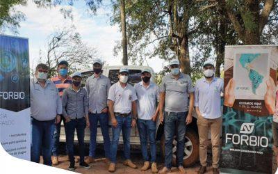 Organizamos un día de Campo en la localidad Tres de Febrero, Paraguay.