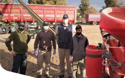 Realizamos Tratamiento Profesional de semillas con Agropecuaria Moreno de la localidad de Tandil, Argentina